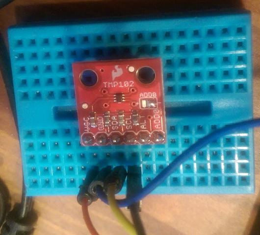 TMP102 temperature sensor